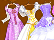 Play Rapunzel Wedding Dress