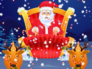 Play Santa Claus Spa Salon