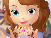 Play Sofia The First Manicure