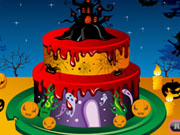 Play Spooky Cake Decorating