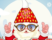 Play Strawberry Santa Cooking and Dressup