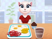 Play Talking Angela Breakfast