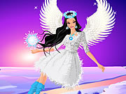 Play Winter Angel Dress Up