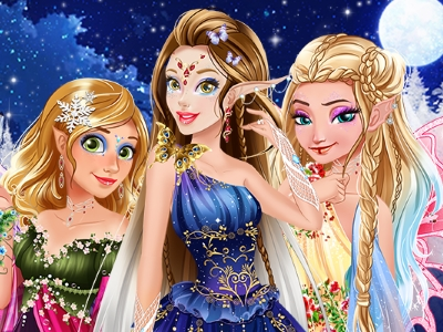 Play Winter Fairies Princesses