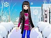 Play Winter in the City Dress Up