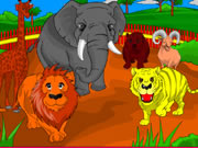 Play Zoo Coloring Game